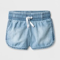 Toddler Girls' Denim Short - Cat & Jack™ Light Wash