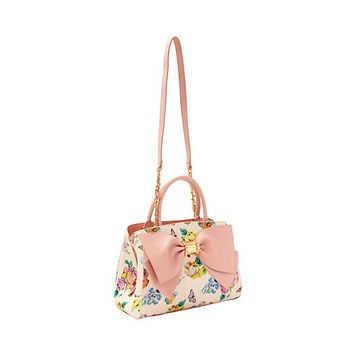 READY SET BOW SATCHEL: Betsey Johnson