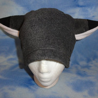 Wolf Grey Fox Hat Fleece Furry Anime Beanie Warm by Hatcore