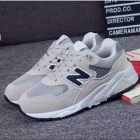 New Balance Running Sport Casual Shoes Women Men Sneakers Print shoes Light Grey