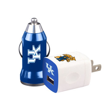 Mizco Kentucky Wildcats 2-Pack Home and Away Chargers