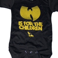 Wutang is for the children Onesuit wutang by dizasteroyale on Etsy