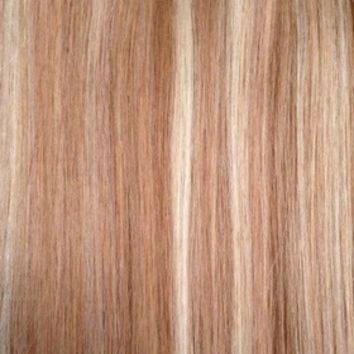 "Copper Blonde - Regular 20"" Clip In Human Hair Extensions 125g - Limited Edition from www.foxylocksextensions.com"