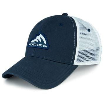 Iconic Patch Trucker Hat [N/WHT]