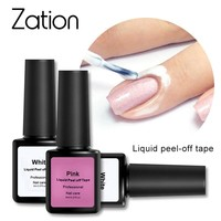 Zation Nail Gel Polish Peel Off Latex Liquid Tape Manicure Skin Care Gel Varnishes Nails Tools Easy Cleaning Acrylic Glue