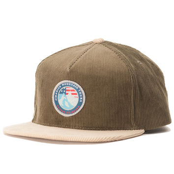 Rocky Mountain Tours Snapback Olive