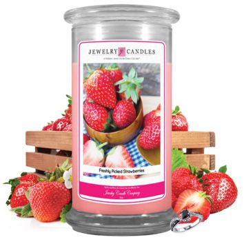 Freshly Picked Strawberries | Jewelry Candle®