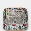Magical Thinking Elephant Stamp Catch-All Dish- Multi One