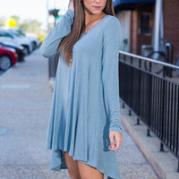 Flawless Flow Tunic, Blue