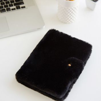 Faux Fur Notebook