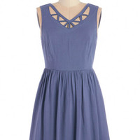 ModCloth Sleeveless A-line Ready, Set, Go-Kart Dress