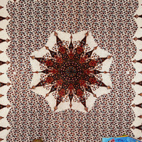 Indian Psychedelic tapestry Star Mandala tapestries bohemian Minar Modern Bedspread WallHanging Gypsy Bedsheet Sofa Cover College Dorm Decor