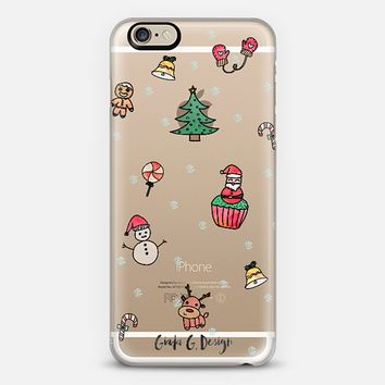 Hand Drawn Christmas Theme Case :) iPhone 6 case by Giada G.   Casetify