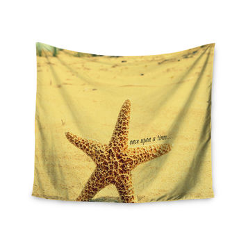 "Robin Dickinson ""Once upon a Time"" Starfish Wall Tapestry"