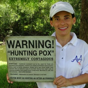 Hunting POX Sign