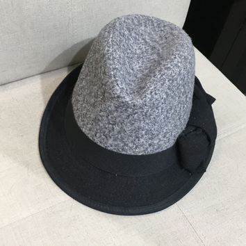 Gray Mad Hatter Hat