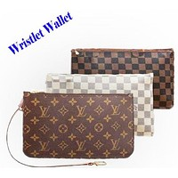LV Fashion Women Louis Vuitton Two piece And Key pouch-Coin purse