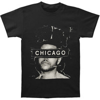 Weeknd Men's  Chicago 2015 Event T-shirt Black