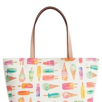kate spade new york 'flavor of the month - francis' printed tote | Nordstrom