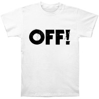 OFF! Men's  Logo T-shirt White