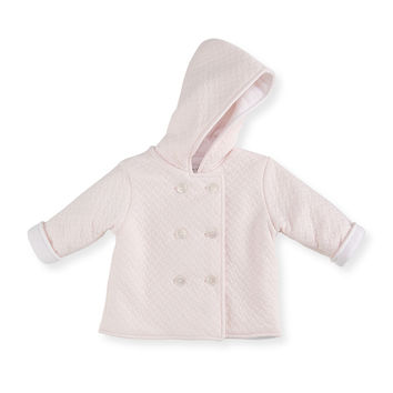 Heavenly Dreams Pima Padded Jacket, Pink, Size 3-18 Months, Size: