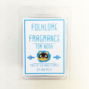 Tom Nook - Animal Crossing Inspired Scented Soy Wax Melts (Ink + Tobacco)
