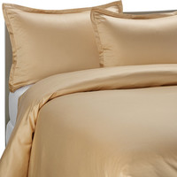 Pure Beech® Modal Sateen Duvet Cover Set in Honey