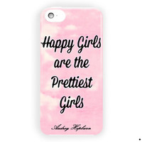 Quote  Audrey Hepburn Love Style For iPhone 5 / 5S / 5C Case