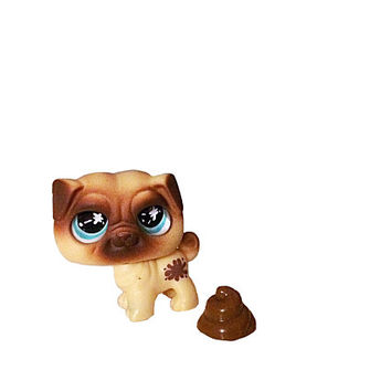 Littlest Pet Shop, Little Pet Pug, Pet Shop Set, LPS Pug, Lps Pug and Poo, Lps Mouse, Lps Shorthaired Cat, Little Pets Easter, Lps On The Go