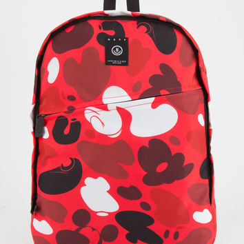 NEFF Disney Collection Camo Mickey Daily Backpack | Womens Backpacks