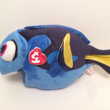 "Finding Dory Plush 12"" Beanie Baby Toy Doll Ty Disney"