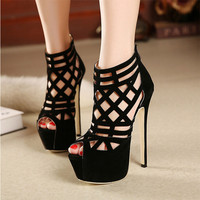 stunning 16CM super beautiful high-heeled