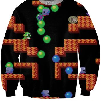 Bubble Bobble Crewneck Sweatshirt