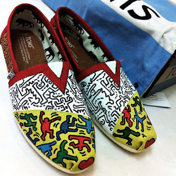 Keith Haring TOMS.