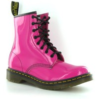 Dr.Martens 1460 Pink Patent Leather Womens Boots