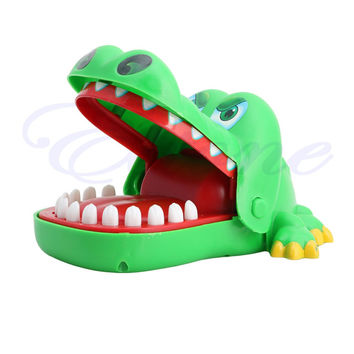Pop Creative Big Crocodile Mouth Bite Finger Game Toy Family Game For Kids Gift chaping