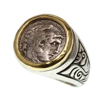 Ancient Coin Rings