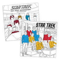 Star Trek Adult Coloring Book