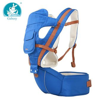 Toddler Backpack class New 6 in 1 For 0-36m mochila infantil ergonomic kangaroo carrier hipseat sling  baby backpacks Carriers chicco AT_50_3