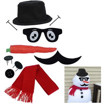 Evelots My Very Own Snowman Kit, New & Improved Design, 10 Pieces Included