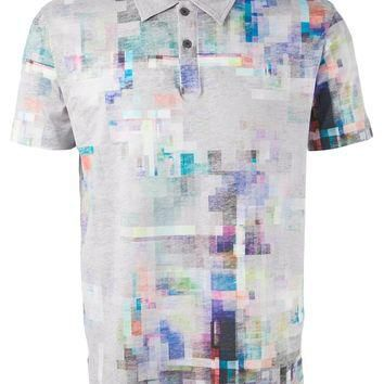 Paul Smith Pixelated Polo Shirt