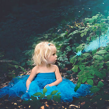 children tulle dress/girl gown/girl tulle dress/photo props/ baptism/birthday dress