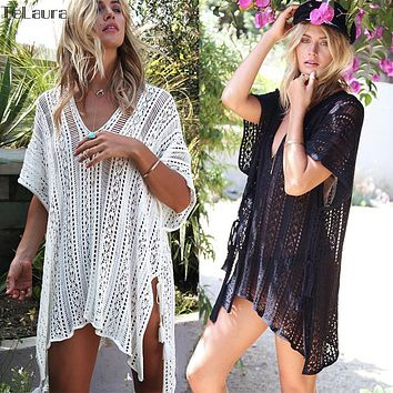 Crochet Beach Wear Cover Up