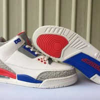 Air Jordan 3 Retro US Basketball Sneaker 41-47