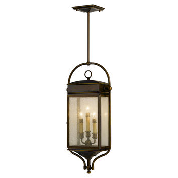Whitaker 3-Light Pendant, Bronze, Outdoor Hanging Lights