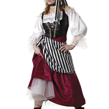 Women's Costume: Pirate's Wench | Large