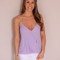 Out on the Town Top - Lavender