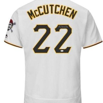 MDIGON Andrew McCutchen Signed Autographed Pittsburgh Pirates Baseball Jersey (JSA COA)