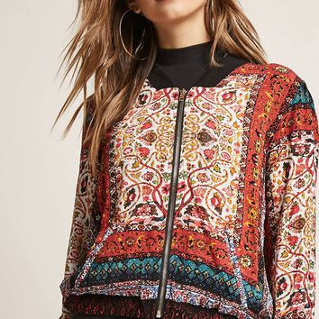 Ornate Bomber Jacket