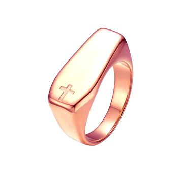 Mister Coffin Ring - Rose Gold